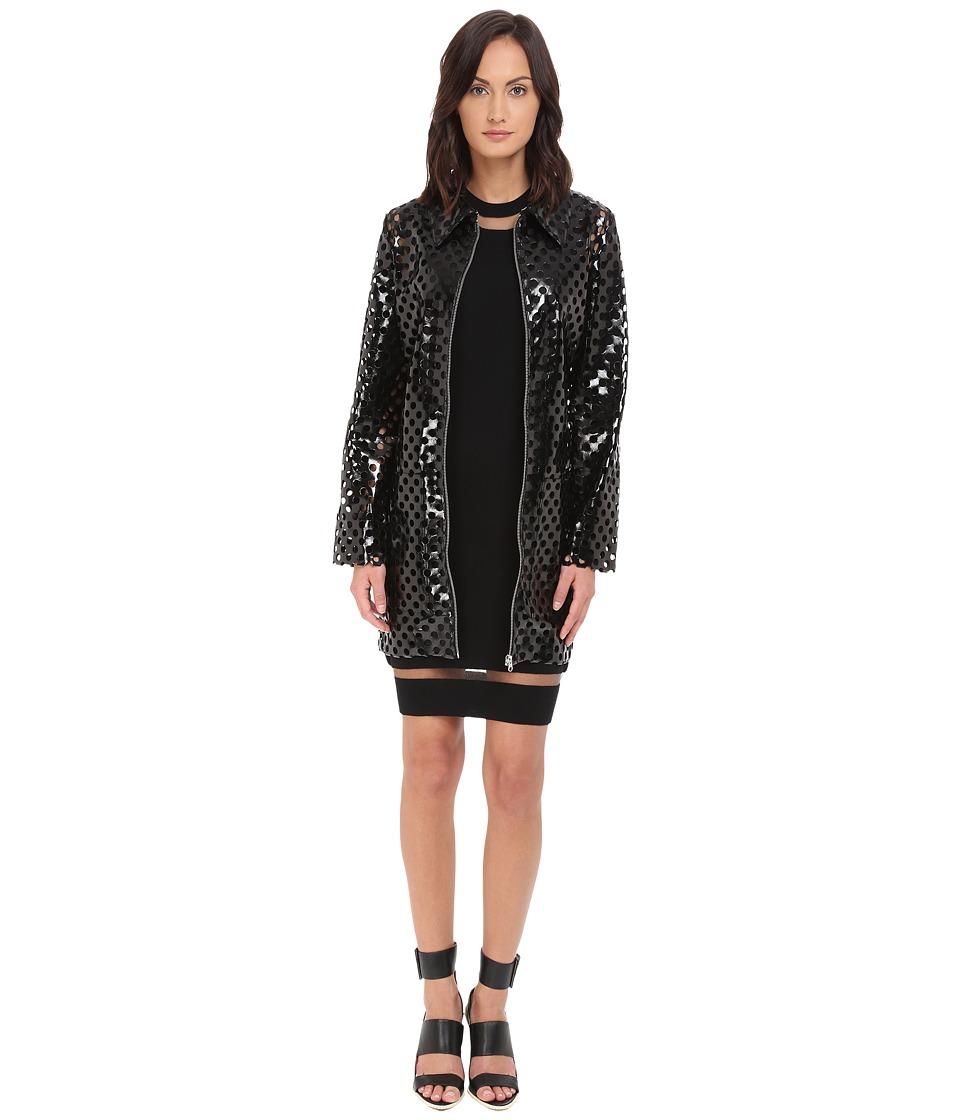 McQ - Boxy Coat (Black) Women's Coat