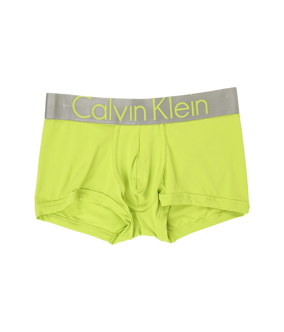 Calvin Klein Underwear - Steel Micro Low Rise Trunk U2716 (Striking Lime) Men's Underwear