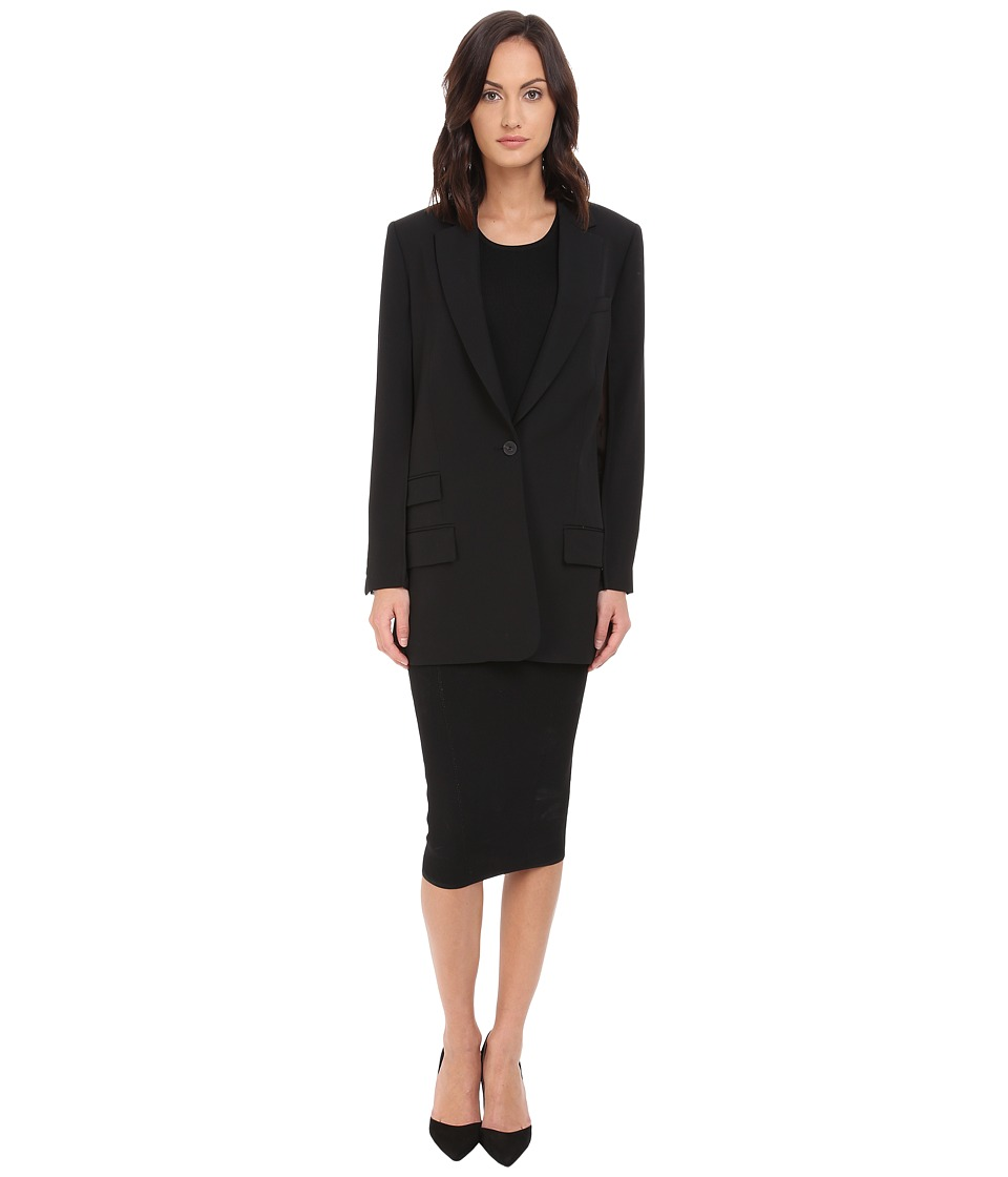 McQ - Mix Classic Blazer (Black) Women's Jacket