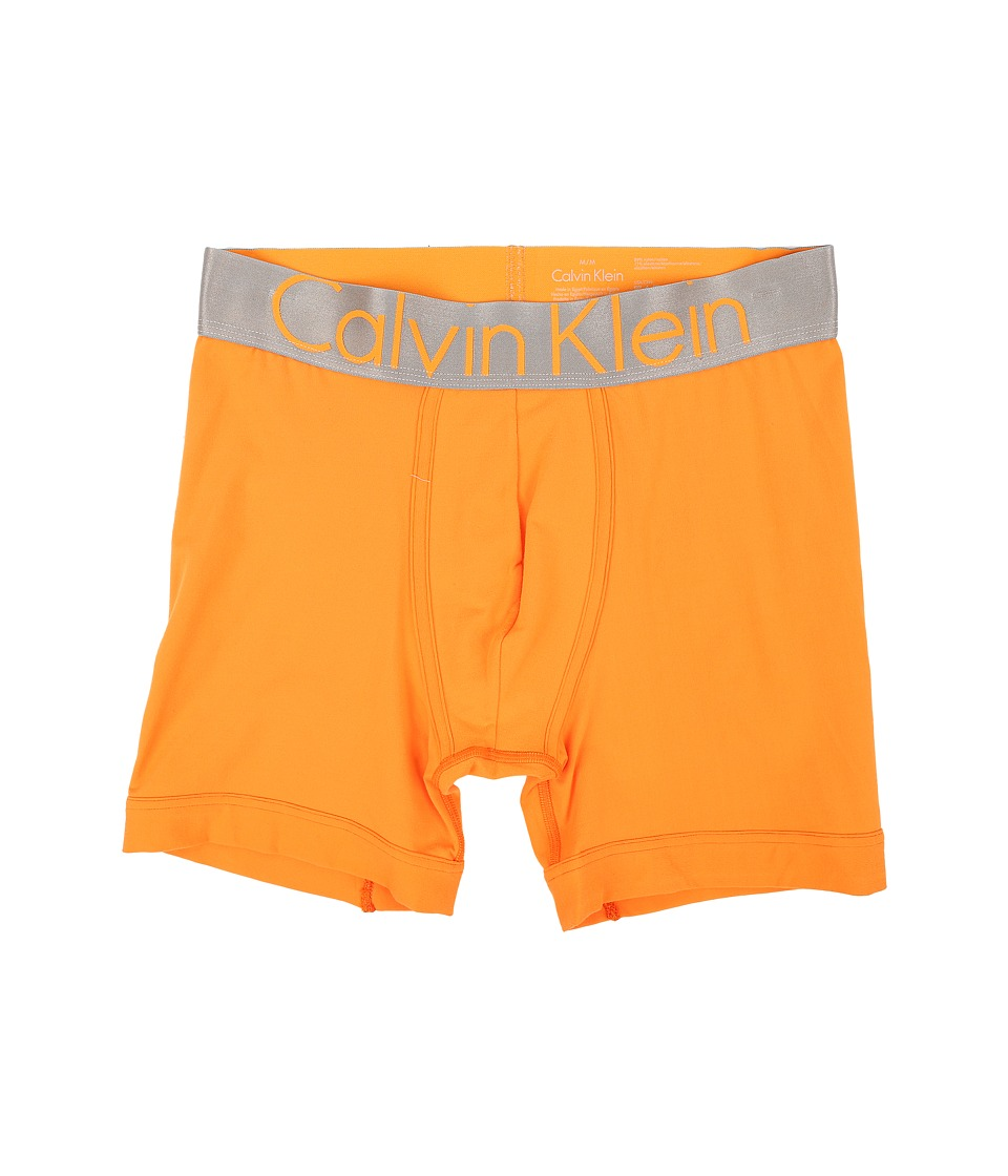 Calvin Klein Underwear - Steel Micro Boxer Brief U2719 (Vibrant Orange) Men's Underwear