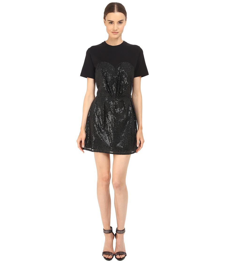 McQ Bustier T-Shirt Dress