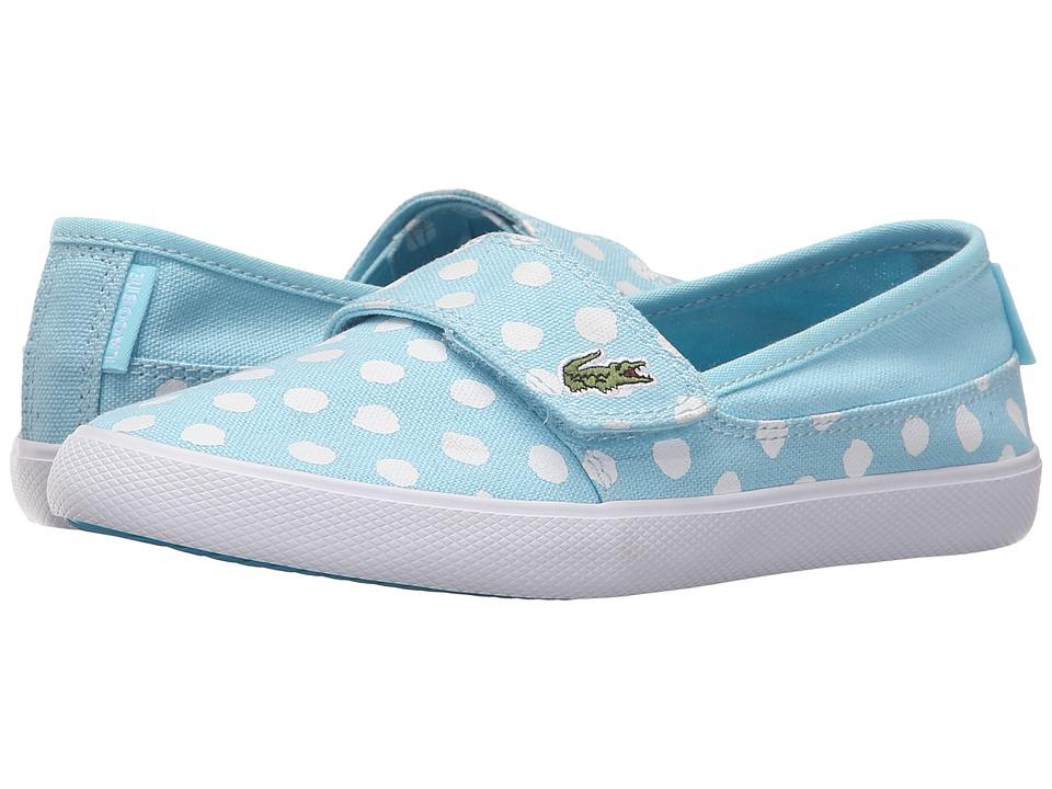 Lacoste Kids - Marice 216 2 SP16 (Little Kid) (Light Blue) Girl's Shoes