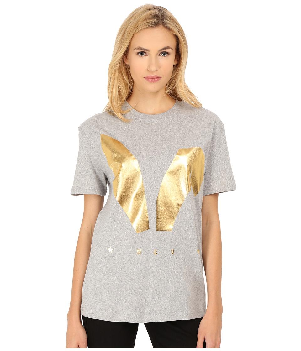 McQ - Classic T-Shirt (Grey Melange) Women's T Shirt