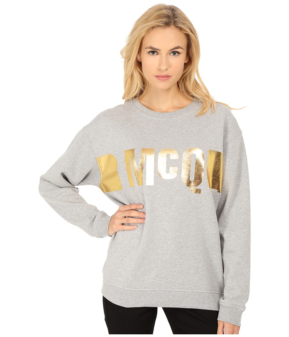 McQ - Classic Sweatshirt (Grey Melange) Women's Sweatshirt