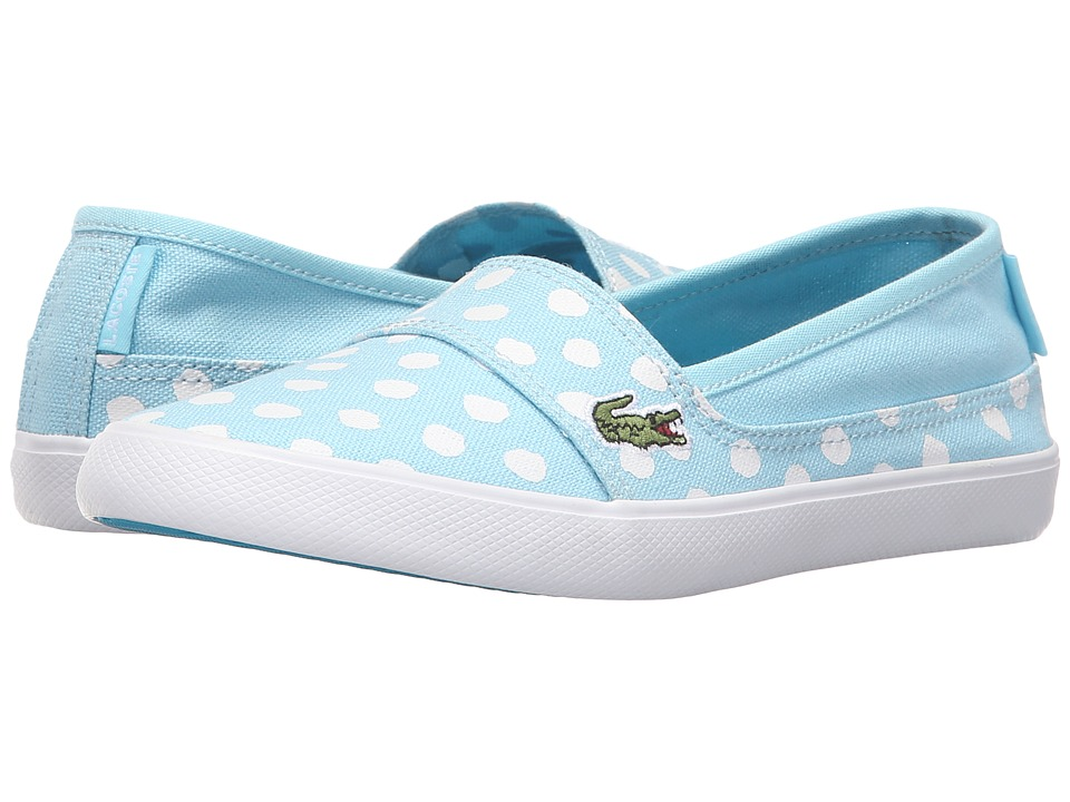 Lacoste Kids - Marice 216 2 SP16 (Little Kid/Big Kid) (Light Blue) Girl's Shoes