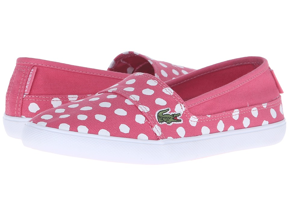 Lacoste Kids - Marice 216 2 SP16 (Little Kid/Big Kid) (Dark Pink) Girl's Shoes