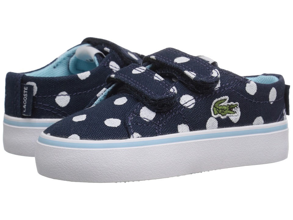 Lacoste Kids - Marcel Chunky 216 1 SP16 (Toddler/Little Kid) (Navy) Girl's Shoes