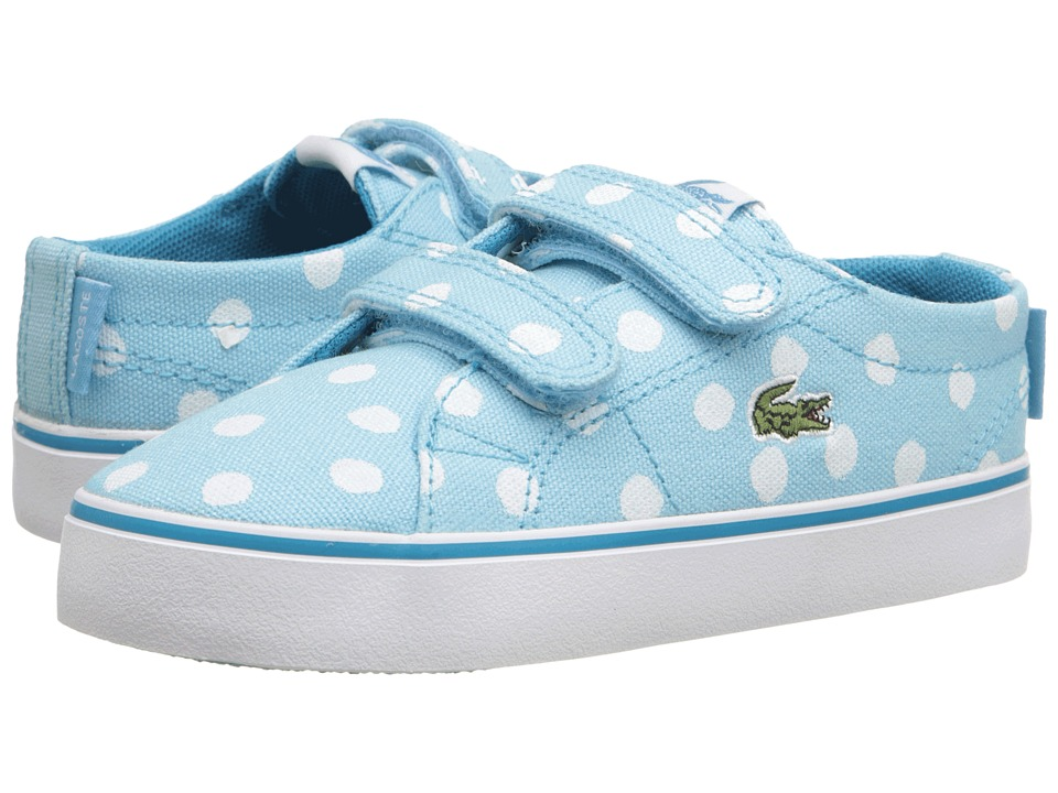 Lacoste Kids - Marcel Chunky 216 1 SP16 (Toddler/Little Kid) (Light Blue) Girl's Shoes
