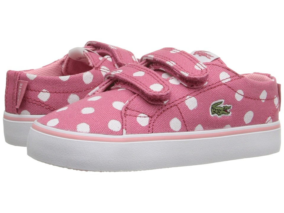 Lacoste Kids - Marcel Chunky 216 1 SP16 (Toddler/Little Kid) (Dark Pink) Girl's Shoes