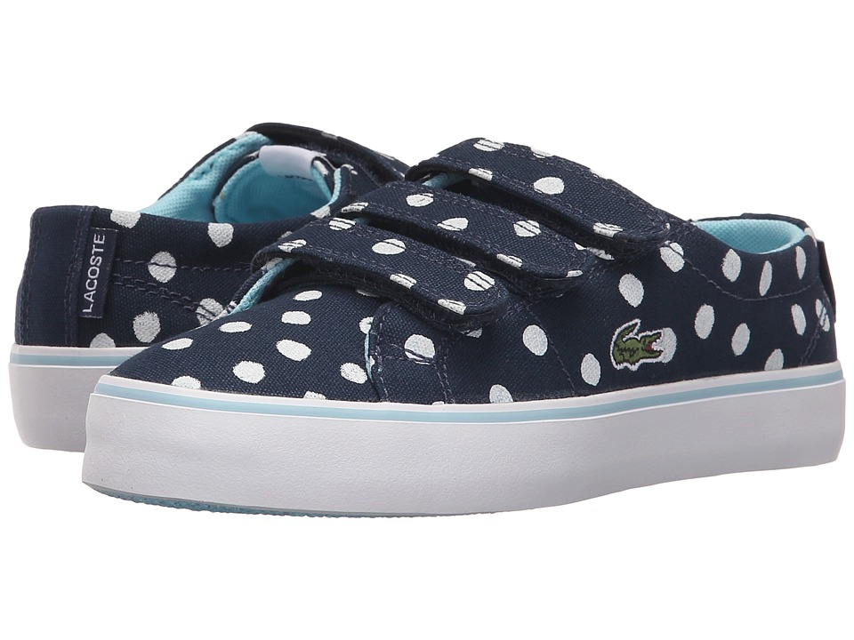 Lacoste Kids - Marcel Chunky 216 1 SP16 (Little Kid) (Navy) Girl's Shoes