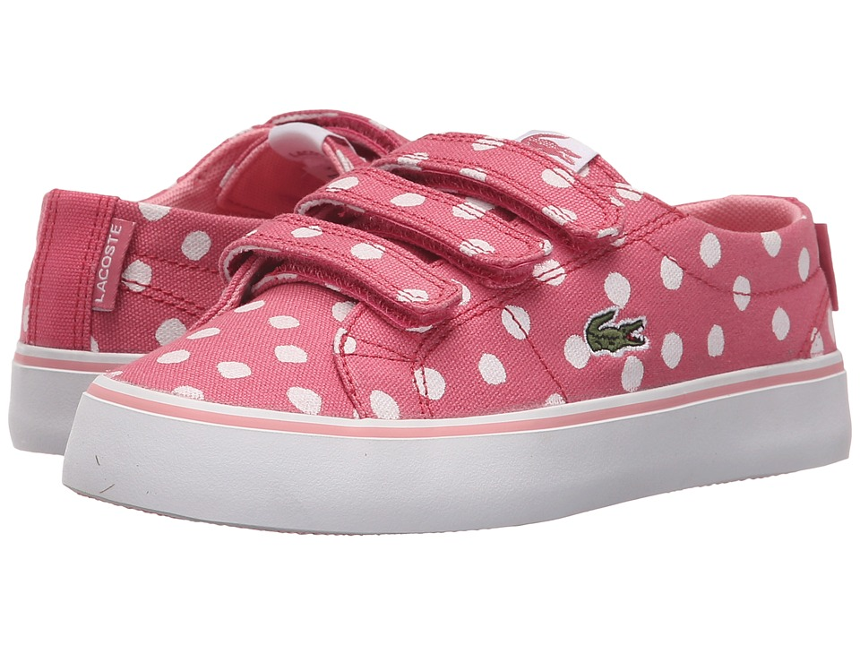 Lacoste Kids - Marcel Chunky 216 1 SP16 (Little Kid) (Dark Pink) Girl's Shoes