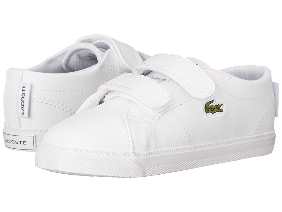 Lacoste Kids - Marcel HL 216 2 SP16 (Toddler/Little Kid) (White) Kid's Shoes