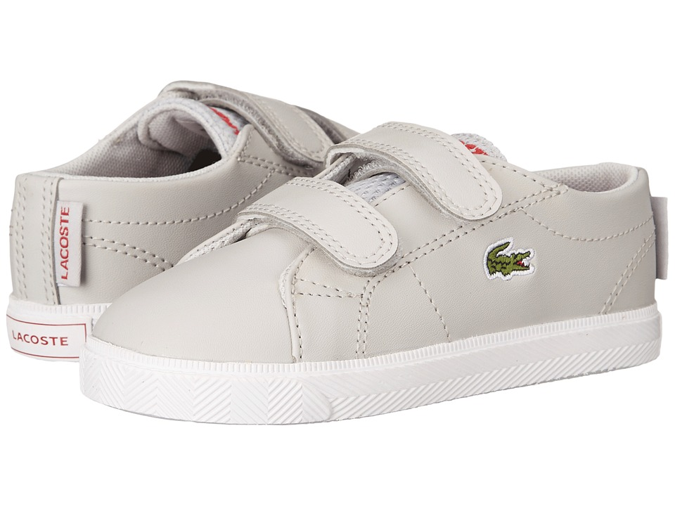 Lacoste Kids - Marcel HL 216 2 SP16 (Toddler/Little Kid) (Grey) Kid's Shoes