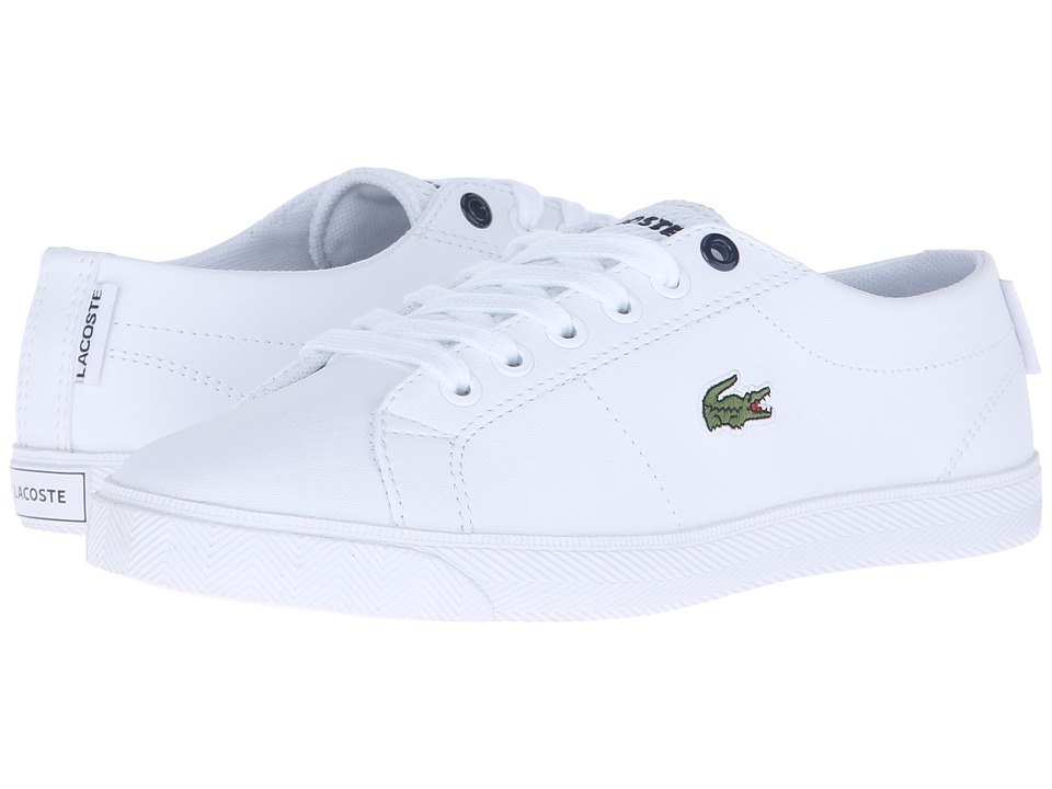 Lacoste Kids - Marcel Lace 216 2 SP16 (Little Kid/Big Kid) (White) Kid's Shoes