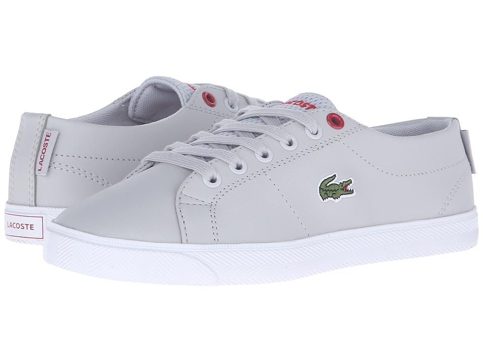 Lacoste Kids - Marcel Lace 216 2 SP16 (Little Kid/Big Kid) (Grey) Kid's Shoes