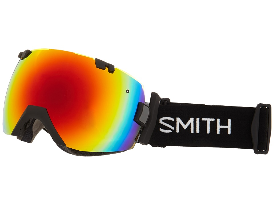 Smith Optics - IOX Turbo (Black/Red Sol X Mirror) Goggles
