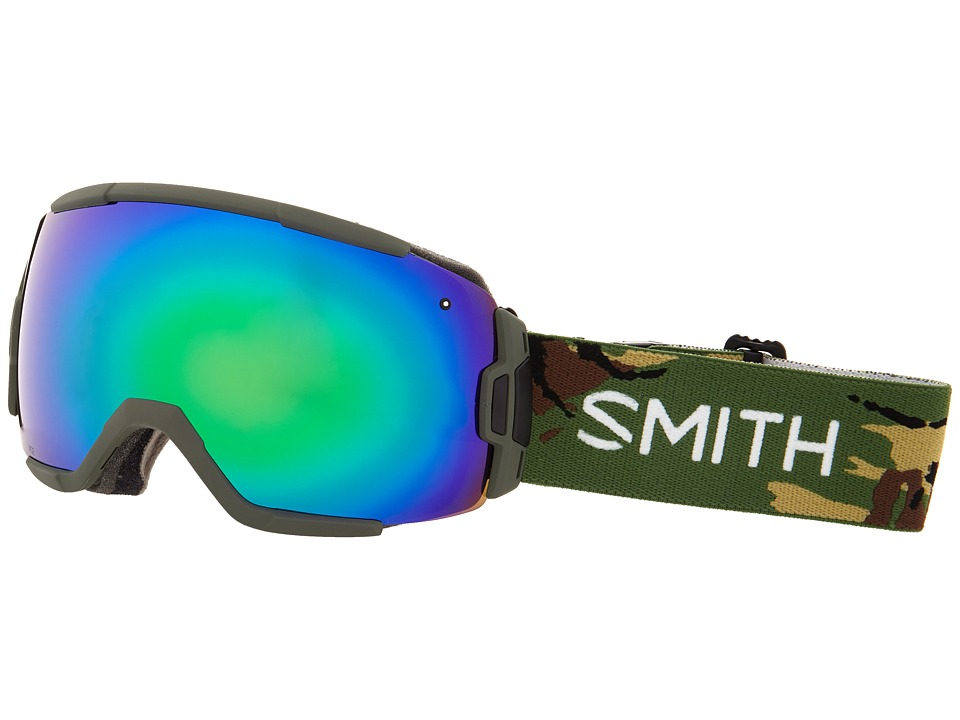 Smith Optics - Vice (Disruption/Green Sol X Mirror) Snow Goggles