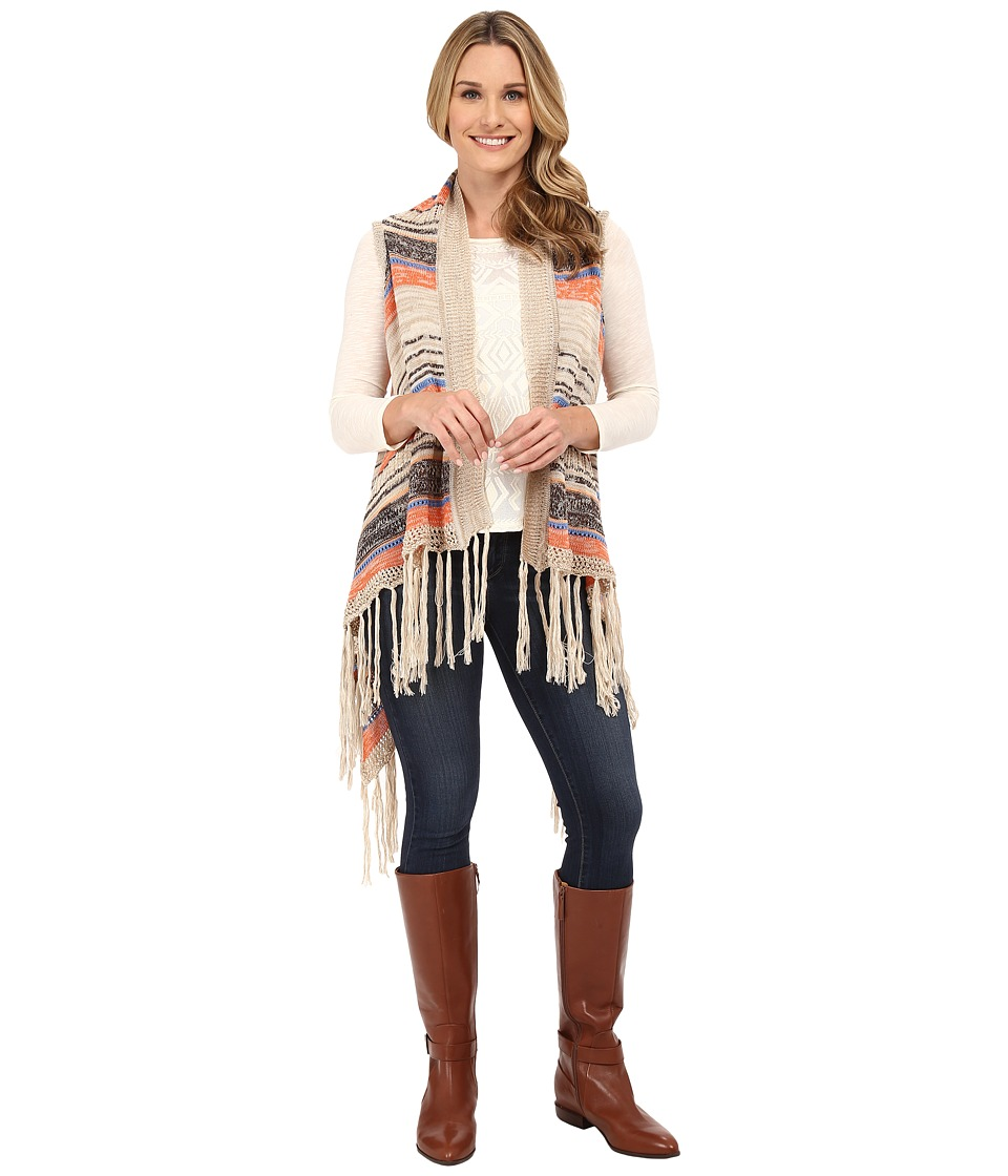 Rock and Roll Cowgirl - Vest 49V5087 (Camel) Women