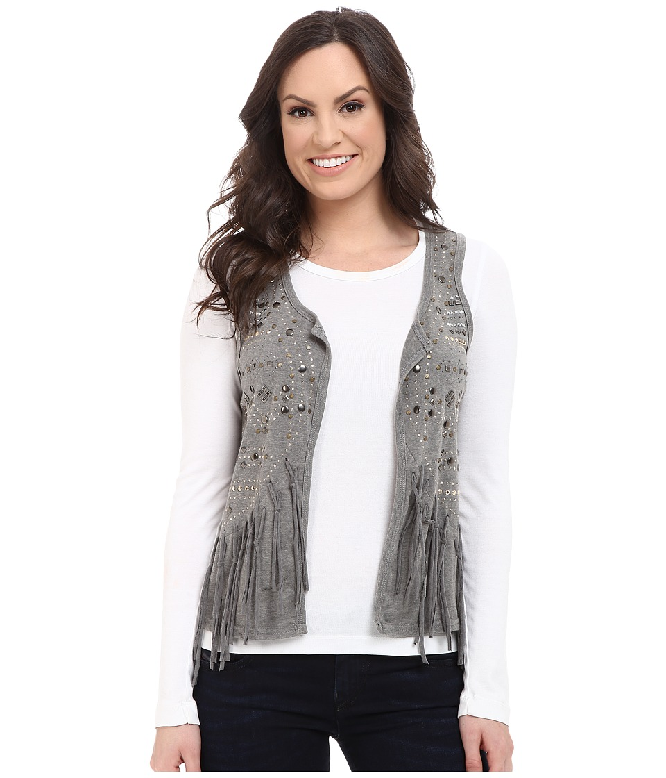 Rock and Roll Cowgirl - Vest 49V5070 (Charcoal) Women's Vest