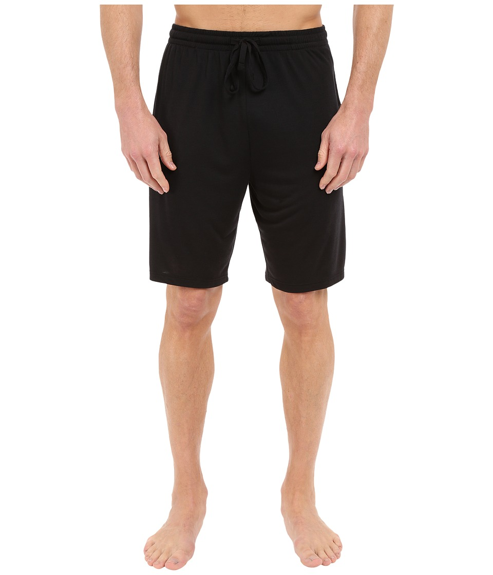 Calvin Klein Underwear - Liquid Lounge PJ Shorts (Black) Men's Underwear