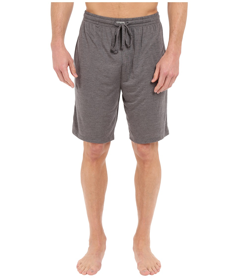 Calvin Klein Underwear - Liquid Lounge PJ Shorts (Heather Grey) Men's Underwear