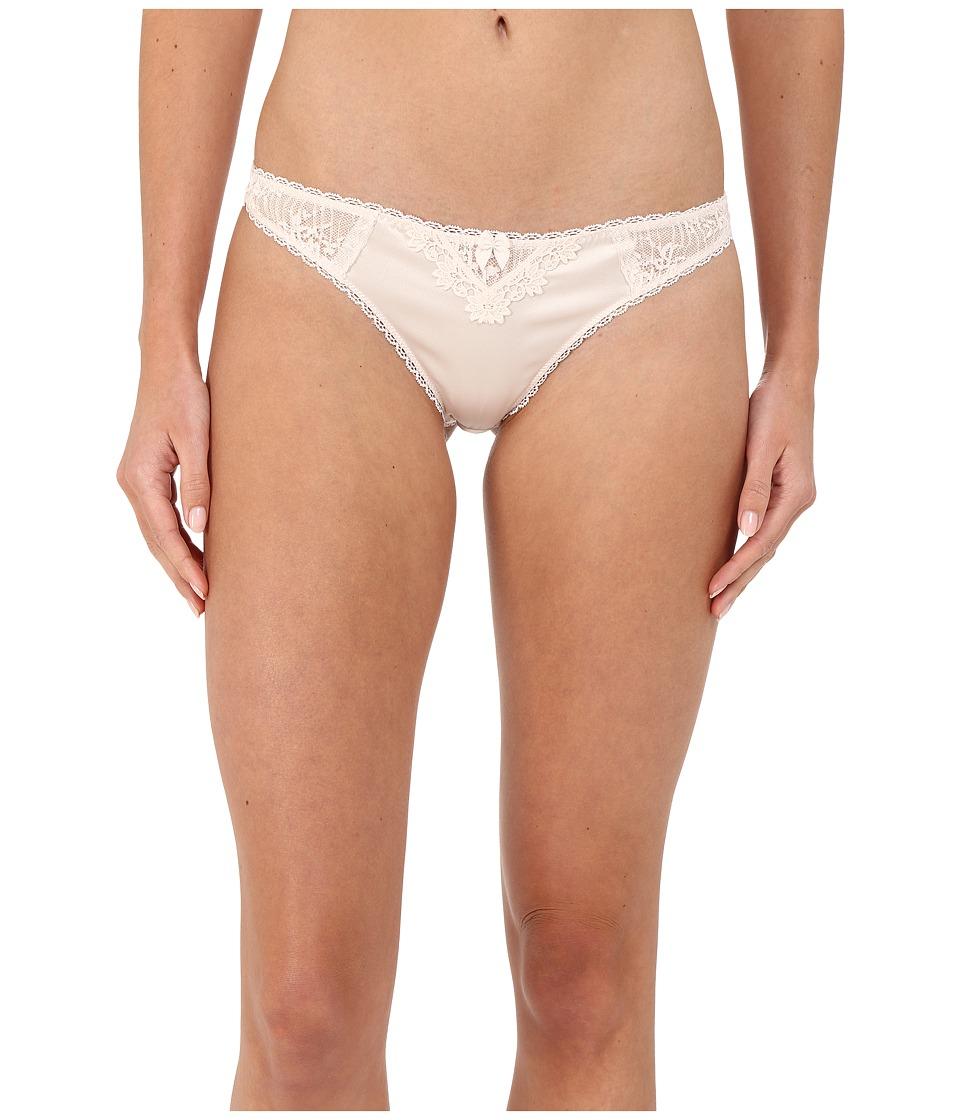 Stella McCartney - Kate Kissing Thong Brief (Floral White) Women's Underwear