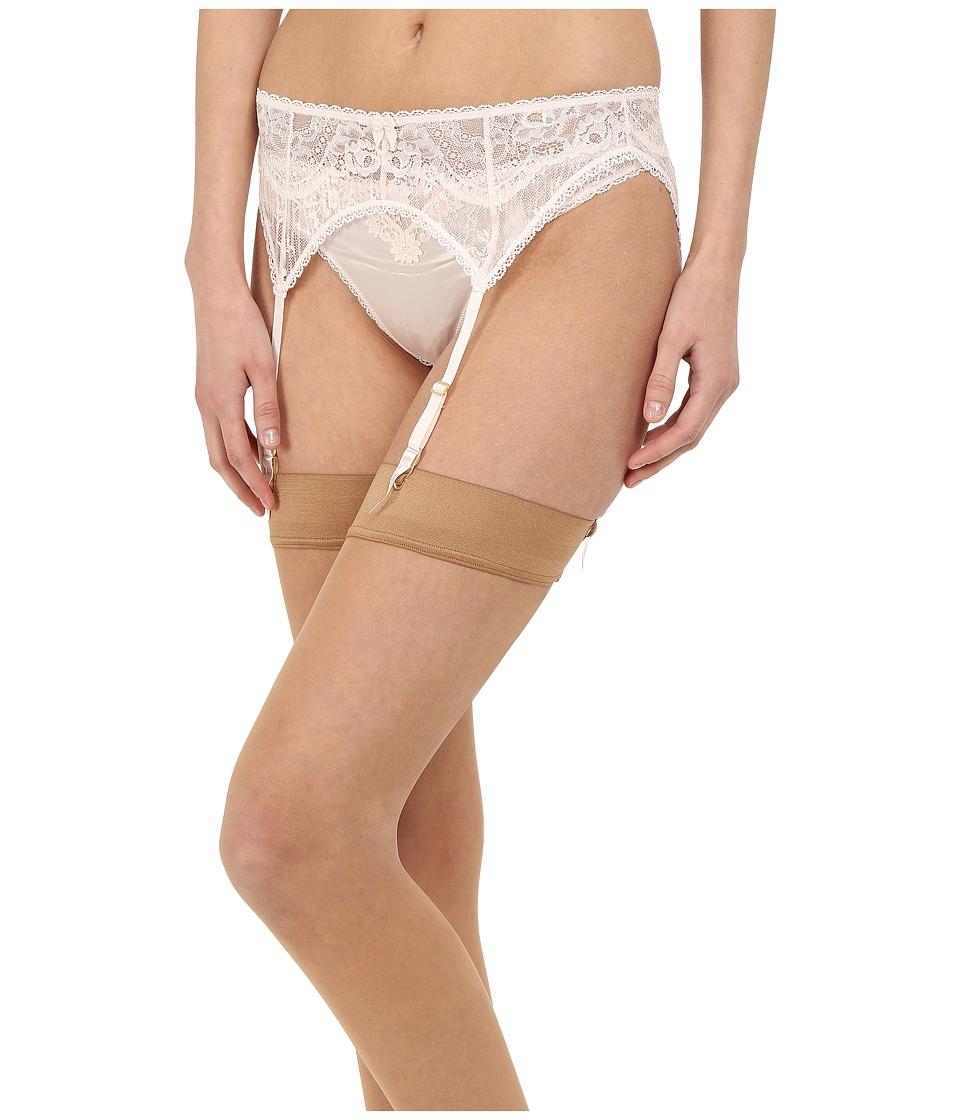Stella McCartney - Kate Kissing Suspender Belt (Floral White) Women's Lingerie
