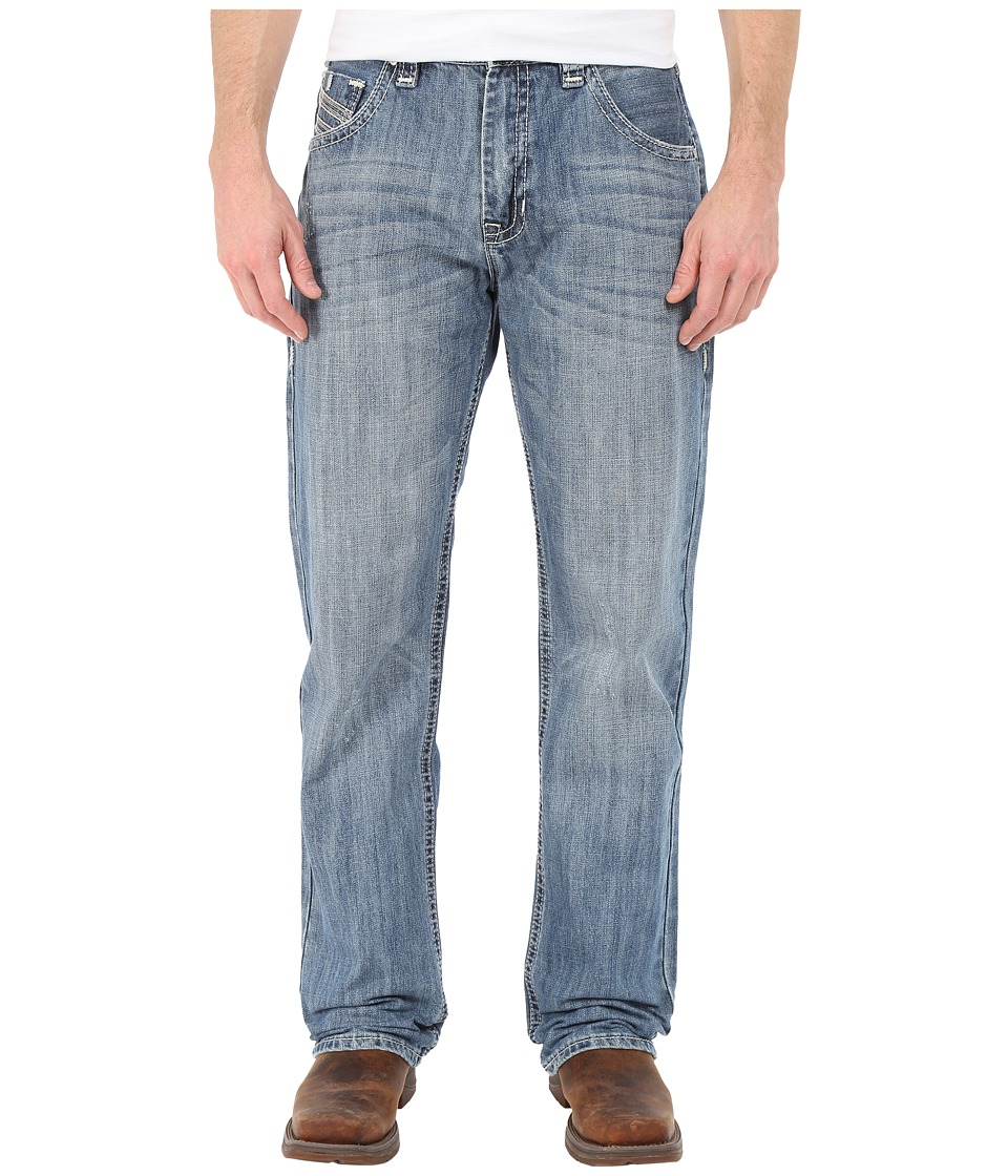 Rock and Roll Cowboy - Straight Leg Jeans in Medium Wash M0T5525 (Medium Wash) Men's Jeans