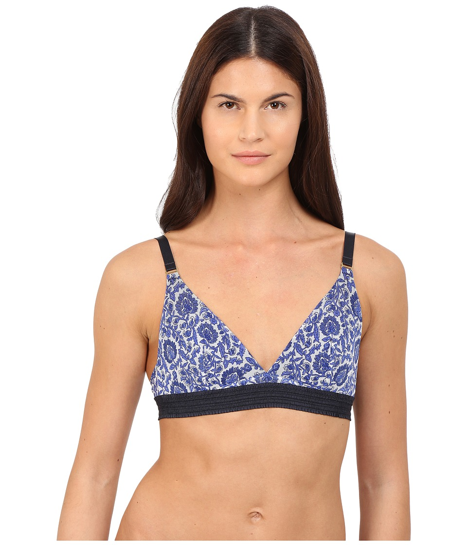 Stella McCartney - Florence Fluttering Soft Cup S21-285 (Woodblock Print) Women's Bra