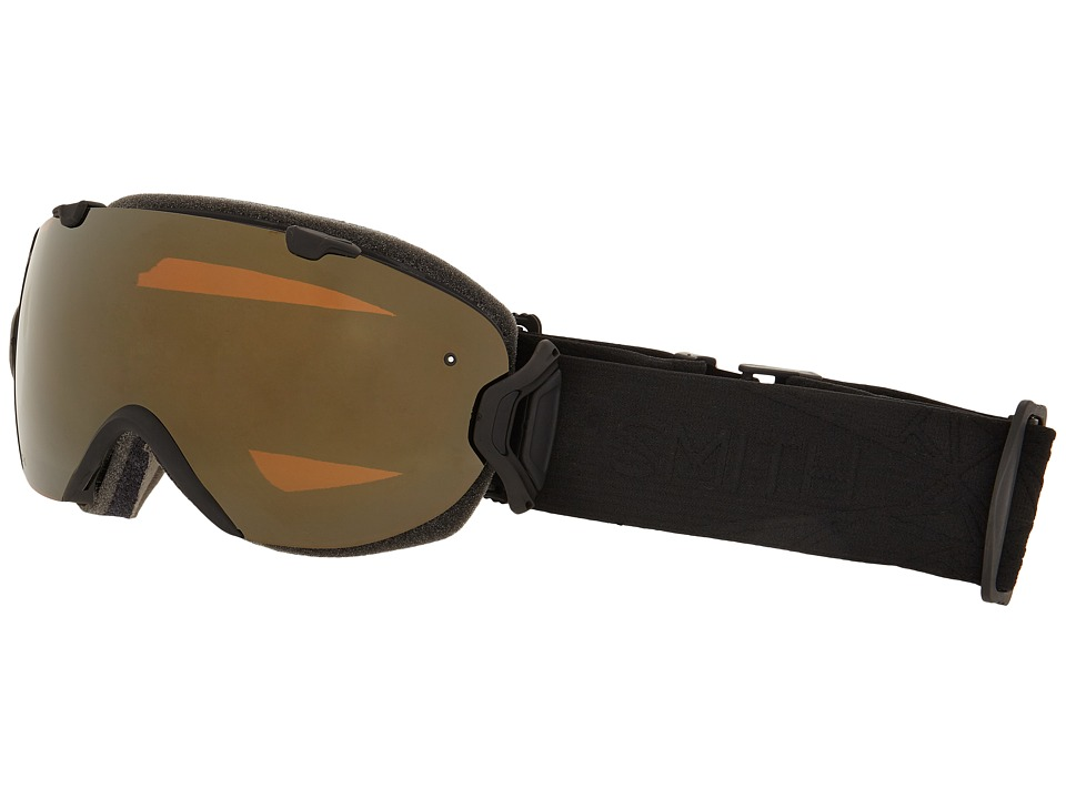 Smith Optics - I/O S (Black Lux/Gold Sol X Mirror) Snow Goggles