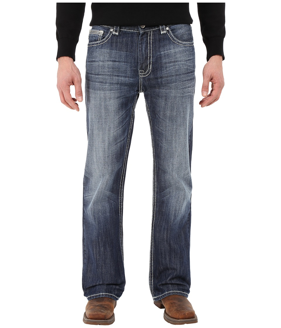 Rock and Roll Cowboy - Double Barrel Relax in Dark Vintage M0D5502 (Dark Vintage) Men's Jeans