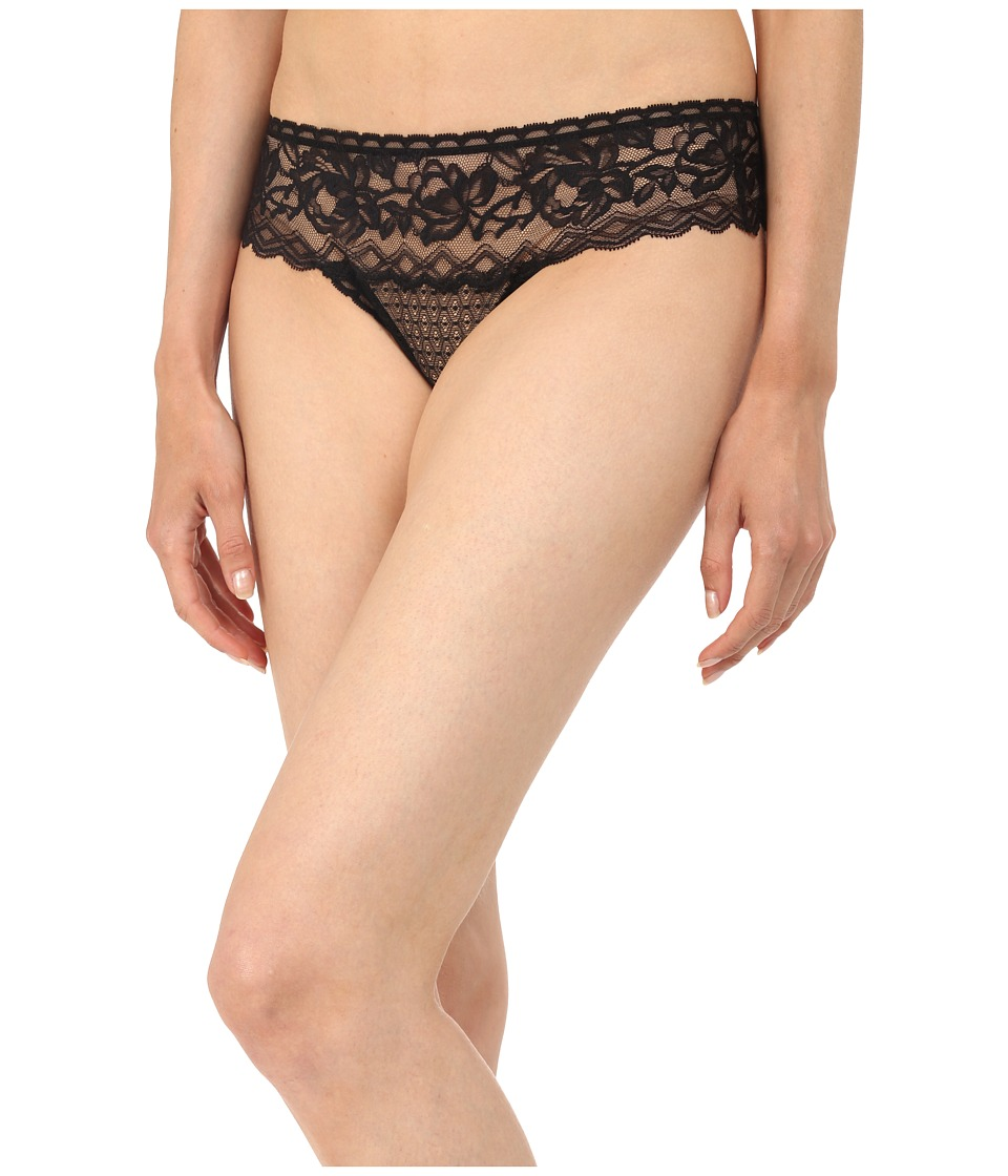 Stella McCartney - Suzie Doting Thong Brief (Black) Women's Underwear