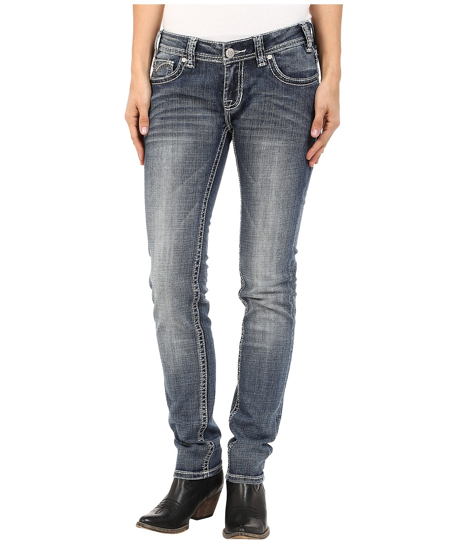 Rock and Roll Cowgirl - Low Rise Skinny in Medium Vintage W0S5607 (Medium Vintage) Women's Jeans