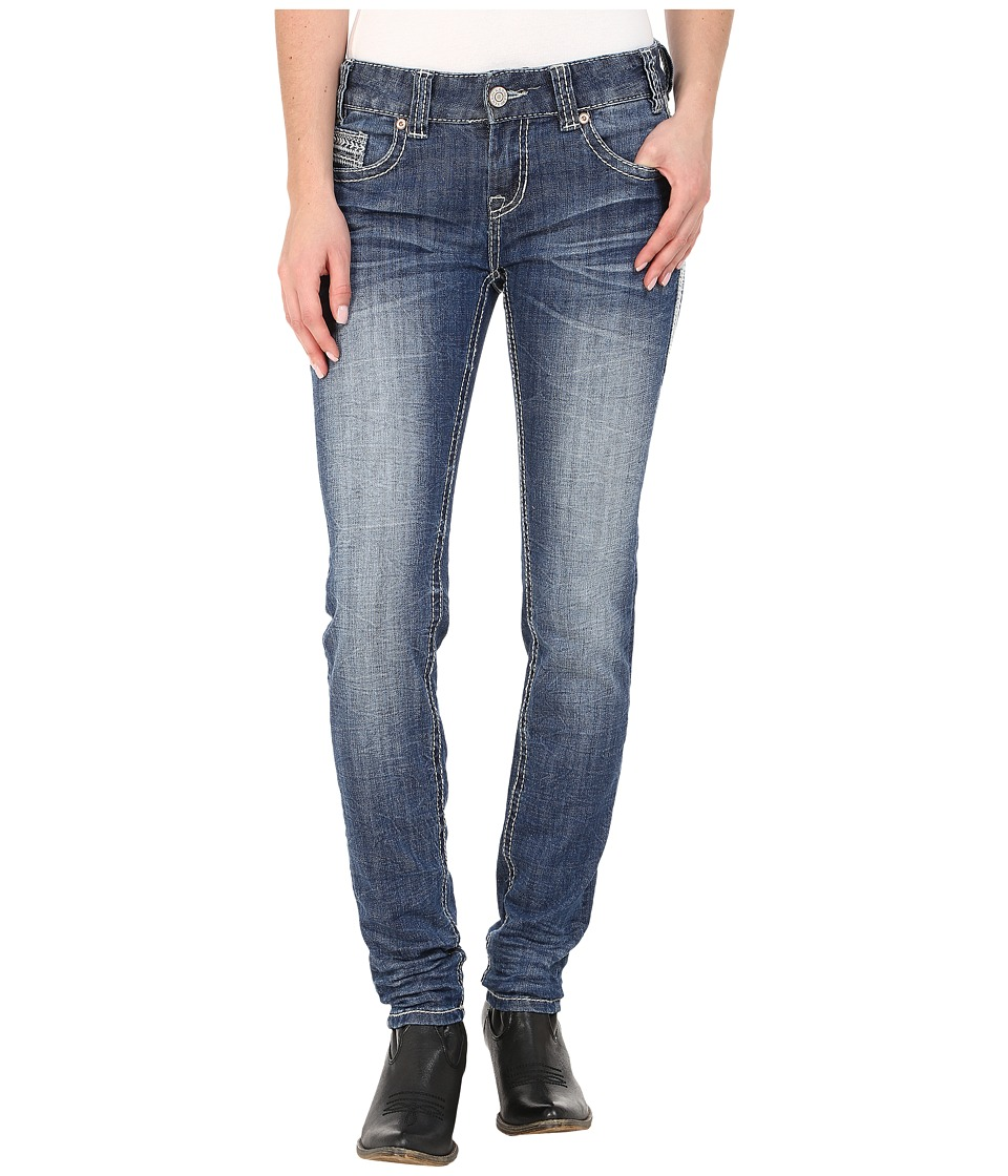 Rock and Roll Cowgirl - Low Rise Skinny in Medium Vintage W0S5611 (Medium Vintage) Women's Jeans