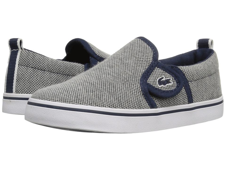 Lacoste Kids - Gazon 216 1 SP16 (Toddler/Little Kid) (Navy) Kid's Shoes