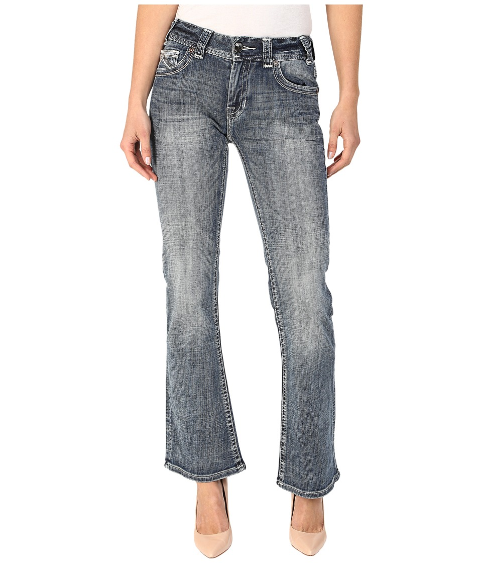 Rock and Roll Cowgirl - Mid-Rise Bootcut in Medium Wash W1-5622 (Medium Wash) Women's Jeans