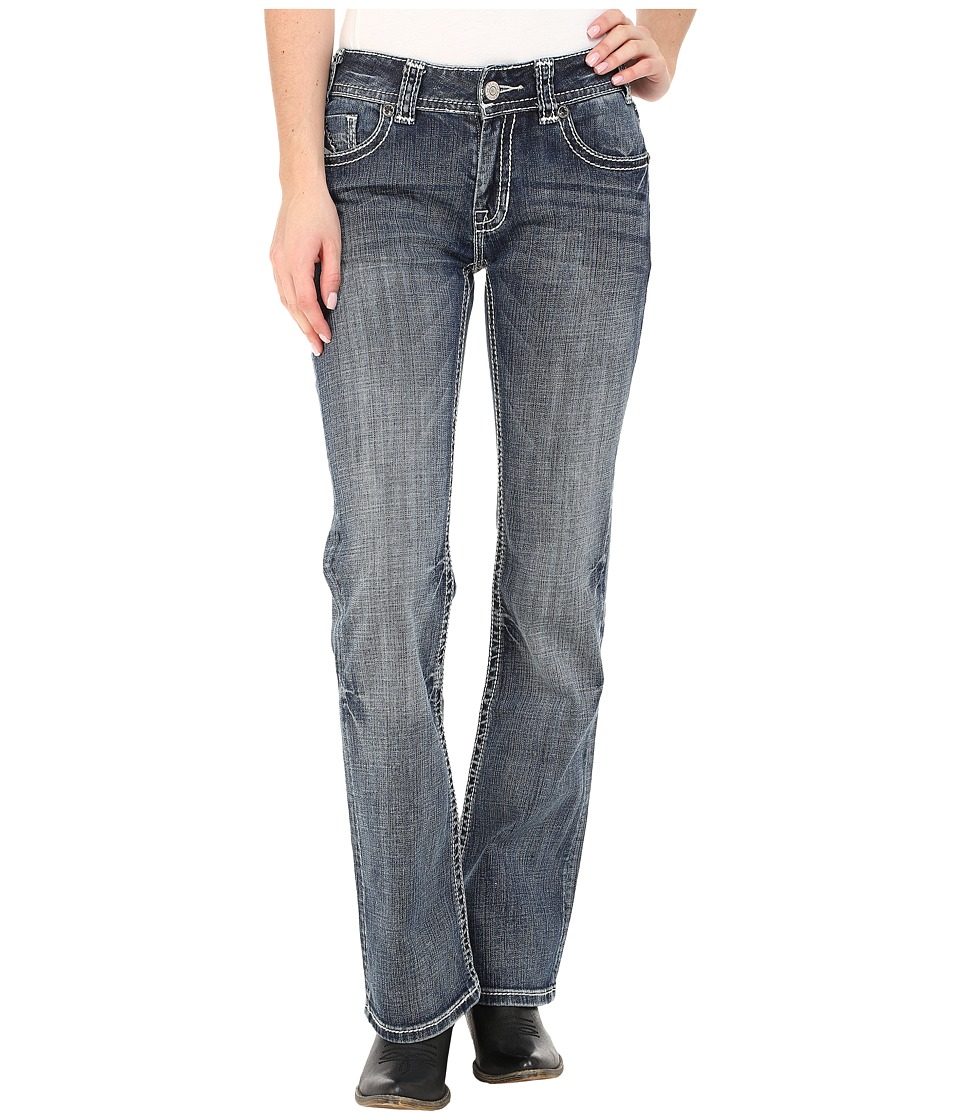 Rock and Roll Cowgirl - Mid-Rise Bootcut in Medium Vintage W1-5619 (Medium Vintage) Women's Jeans