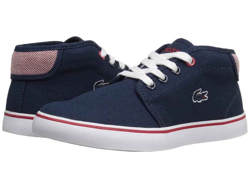 Lacoste Kids - Ampthill 216 1 SP16 (Little Kid) (Navy) Kid's Shoes