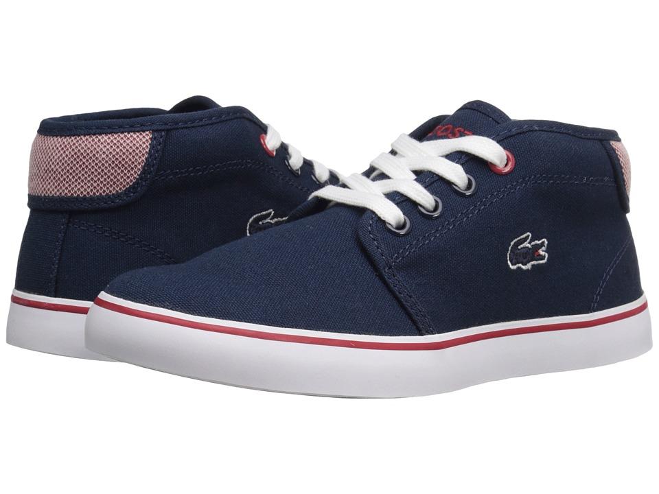 Lacoste Kids - Ampthill 216 1 SP16 (Little Kid) (Navy) Kid's Shoes
