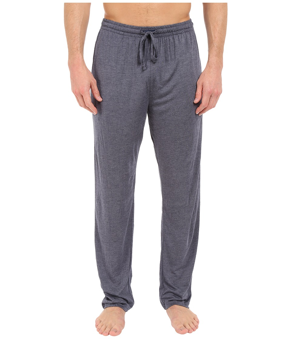 Calvin Klein Underwear - Liquid Luxe Lounge Pants w/Pockets (Navy Heather) Men