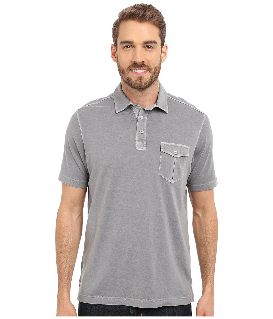 Tommy Bahama - Vacanza Polo (Storm Gray) Men's Short Sleeve Pullover