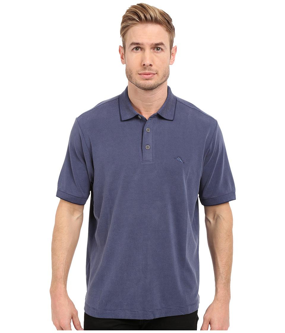Tommy Bahama - New Pebble Shore Polo (Maritime) Men's Short Sleeve Knit