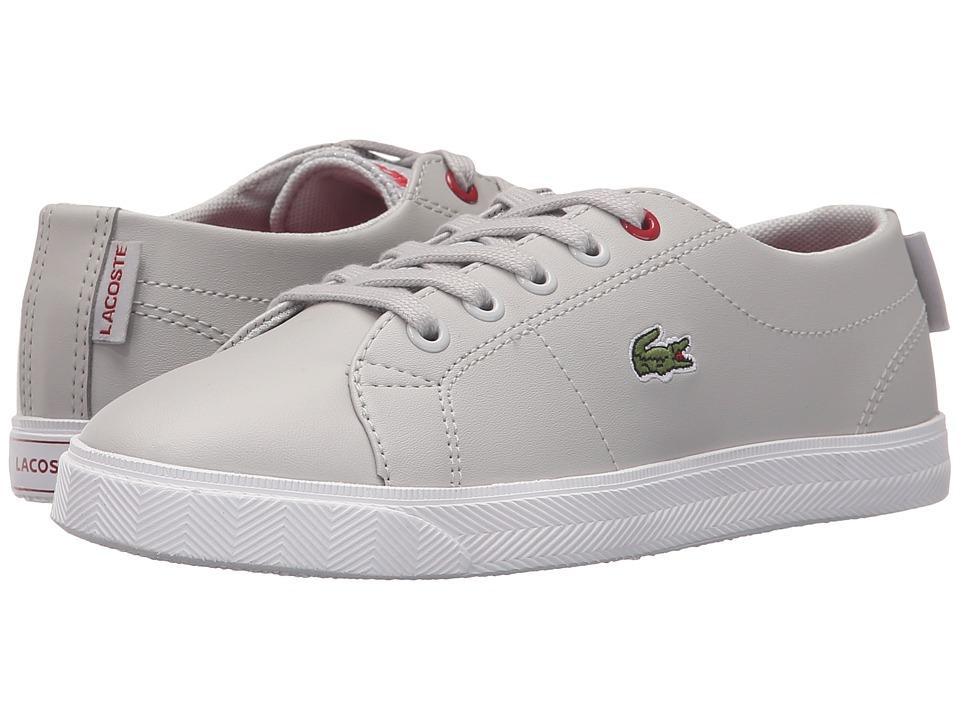 Lacoste Kids - Marcel Lace 216 2 SP16 (Little Kid) (Grey) Kid's Shoes