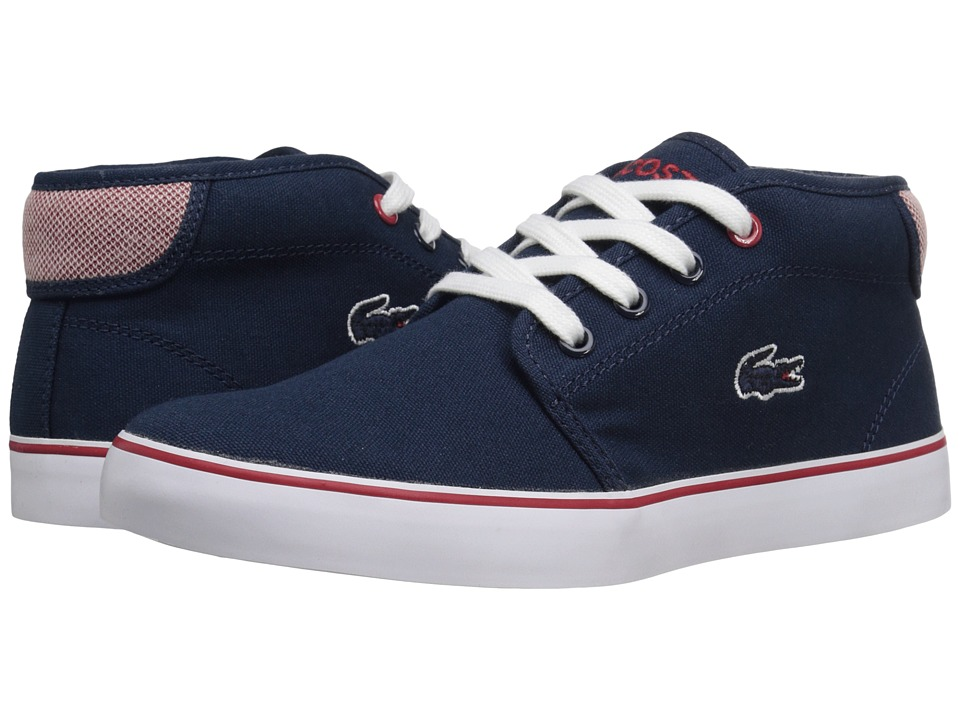 Lacoste Kids - Ampthill 216 1 SP16 (Little Kid/Big Kid) (Navy) Kid's Shoes