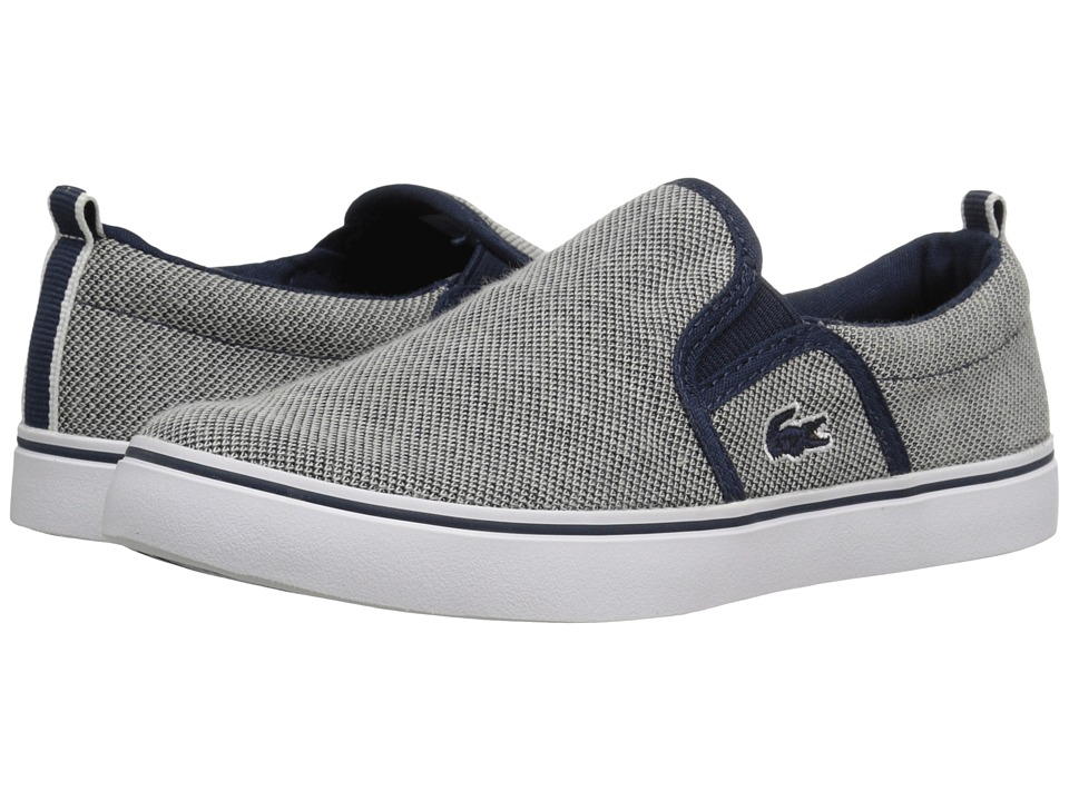 Lacoste Kids - Gazon 216 1 SP16 (Little Kid) (Navy) Kid's Shoes