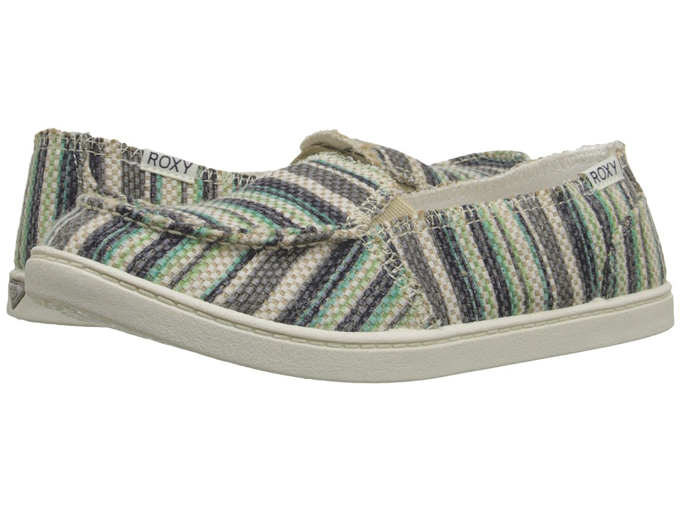 Roxy - Lido Stitch (Teal) Women's Slip on Shoes