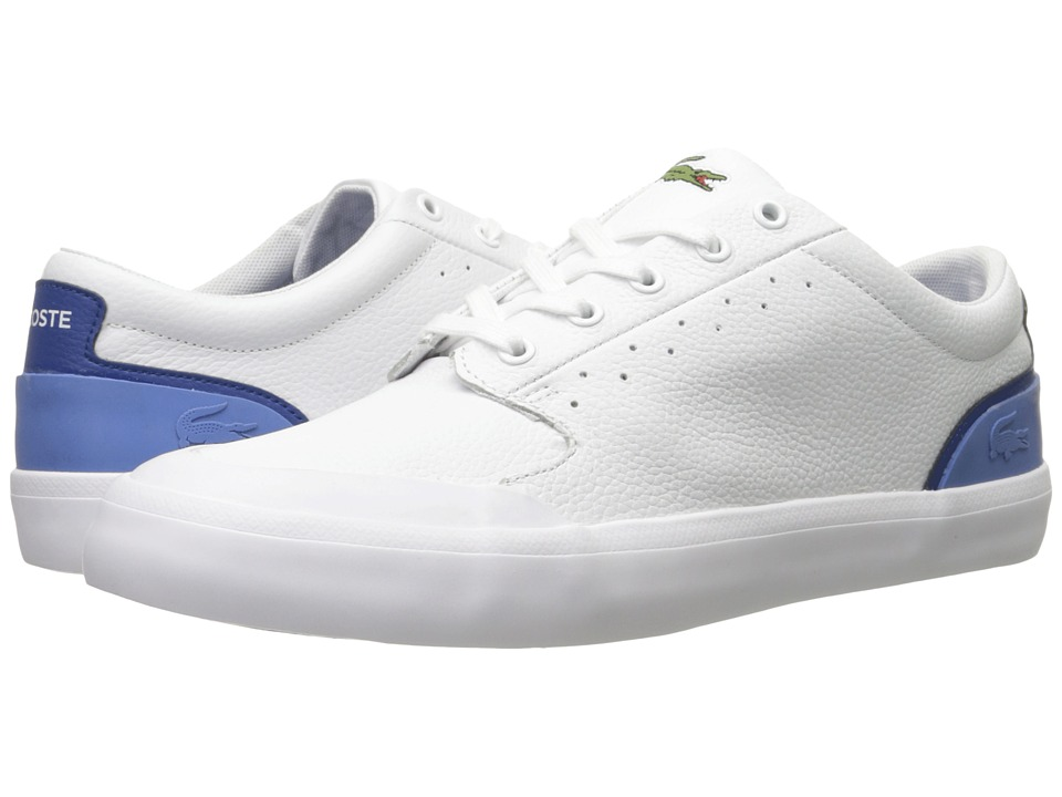 Lacoste - 4HND.15 116 1 (White/Blue) Men's Shoes