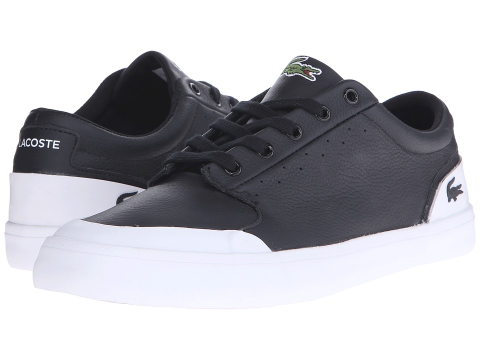 Lacoste - 4HND.15 116 1 (Black/White) Men's Shoes