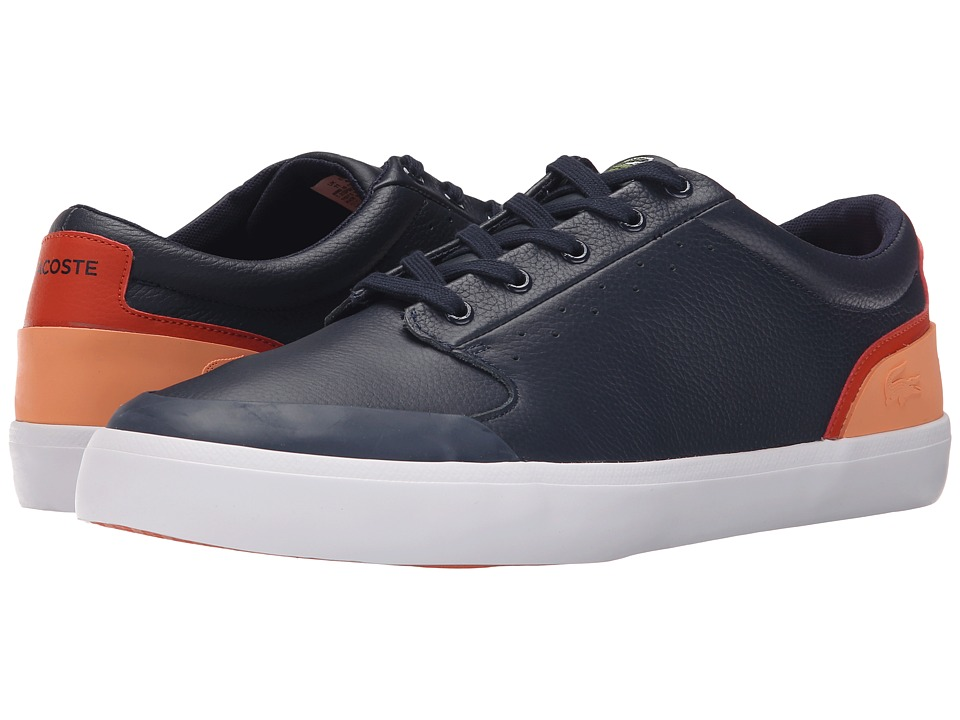 Lacoste - 4HND.15 116 1 (Navy/Orange) Men's Shoes
