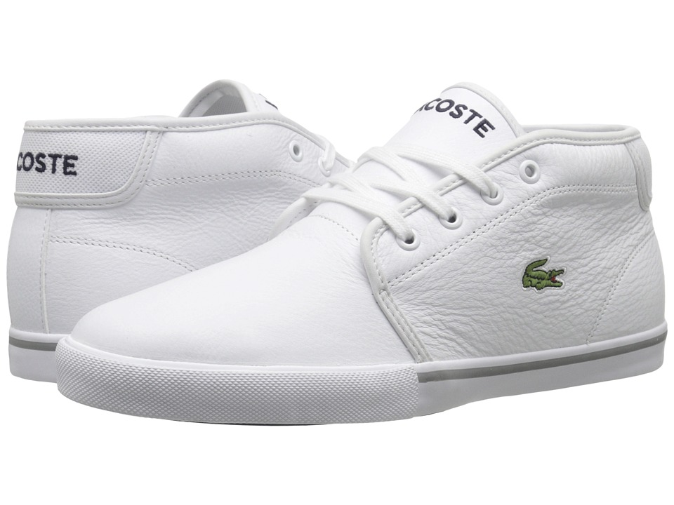 Lacoste - AMPTHILL LCR3 (White/White) Men's Shoes